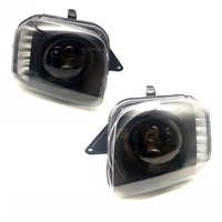 Car Styling Led Headlights for Suzuki Jimny JB43 Off Road Low / High Car Lights Angel Eyes Signal Lights with Lens