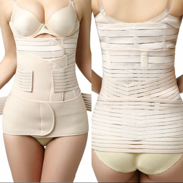 Hot sale Postpartum Abdomen Belt Drawing Maternity Corset Belt Breathable Maternity Waist Strap Binding with Caesarean Section B hot sale great deal maternity binding body shaping postpartum staylace maternity supplies abdomen waist belt pregnant panties n