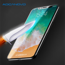 3D Edge 9H Full Cover Tempered Glass For iPhone X Soft Edge Screen Protector For iPhone 10 Toughened Protective Glass Film стоимость