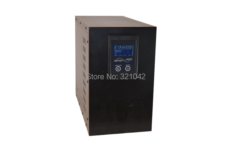 off grid solar inverter rated power 5kva 4000w pure sine wave interactive online ups dc to ac inverter 48V to 220V dc to ac off grid tied pure sine wave 48v dc 220v ac power inverter 4000w peak 8000w