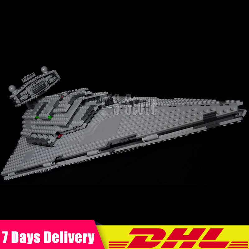 DHL IN Stock LEPIN 05062 Star 1391PCS Series Wars New Imperial Star Destroyer Building Blocks Bricks Set DIY Toys Fit for 75055 new in stock qm30dy 2h