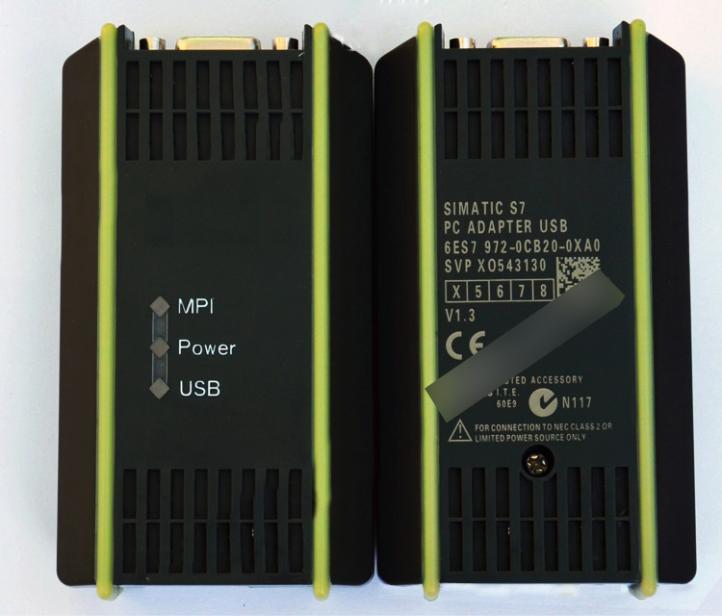 1 lot de c/âble de programmation compatible Siemens S7-200//300//400 PLC 6ES7972-0CB20-0XA0 USB-MPI MPI//PPI//DP//PROFIBUS USB MPI