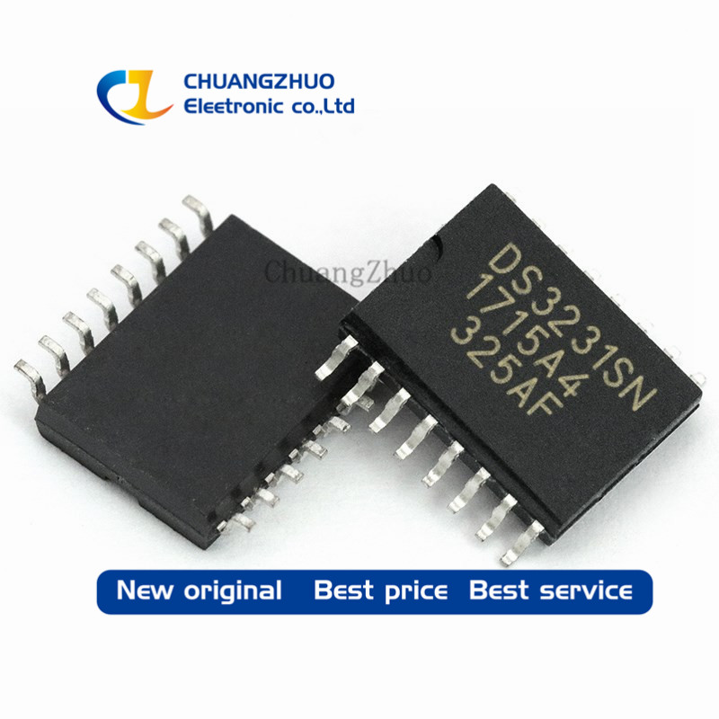100PCS Real Time Clock chip DS3231SN DS3231 16 SOIC IC