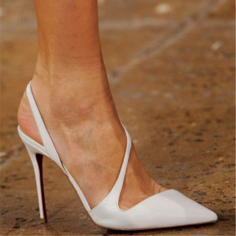 SHOFOO shoes.Simple fashion free shipping,white leather, 11 cm high-heeled shoes, pointed toe pumps.SIZE:34-45SHOFOO shoes.Simple fashion free shipping,white leather, 11 cm high-heeled shoes, pointed toe pumps.SIZE:34-45