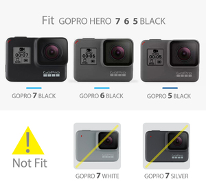 Image 2 - Vamson  for Go Pro 60m Underwater Waterproof Case for GoPro Hero 7 6 5 Black Accessory Kit Diving Protective Cover Housing VP633