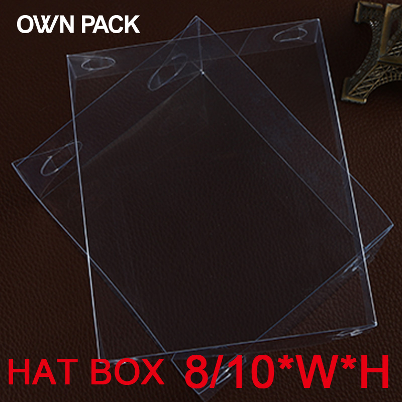 Direct Selling clear box 10pcs/lot 8*H*W hat box / display case / gifts & crafts/gifts box wedding gifts for guests/ clear box