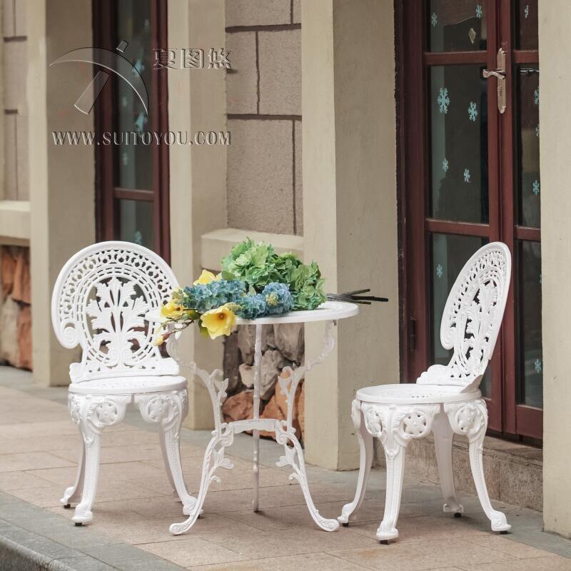 לגינה ריהוט סט כיסאות 3