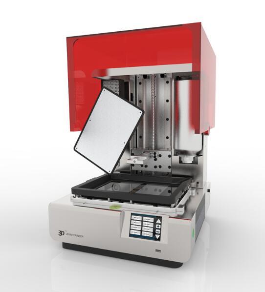 Di grandi dimensioni Jenny LCD luce di polimerizzazione di seconda generazione ad alta precisione colata di gioielli 3D stampante sla Dlp resina fotosensibile