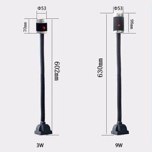 Image 3 - Barra suave de aluminio de alta potencia, 6 unidades/caja, 9W, 24V/220V, máquina de luz LED CNC, lámpara para mesa de trabajo, fresadoras