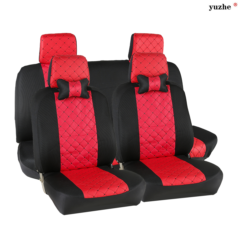 Universal Car seat covers For Toyota  Honda Nissan Mazda Lexus Jeep Subaru Mitsubishi Suzuki  Kia Hyundai Ssangyong accessories источник света для авто eco fri led 6pcs 31 t10 w5w honda acura isuzu hyundai kia lexus mazda