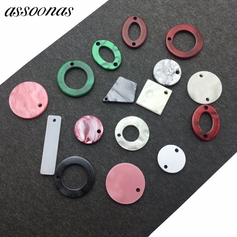 assoonas M46/jewelry accessories/jewelry findings/accessory parts/Acrylic earrings accessories/jewelry findings components/DIY