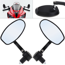 2pcs 22mm Modified Cherries 219 Motorcycle Rearview Mirror Side Aluminum Alloy for Universal Motorbike