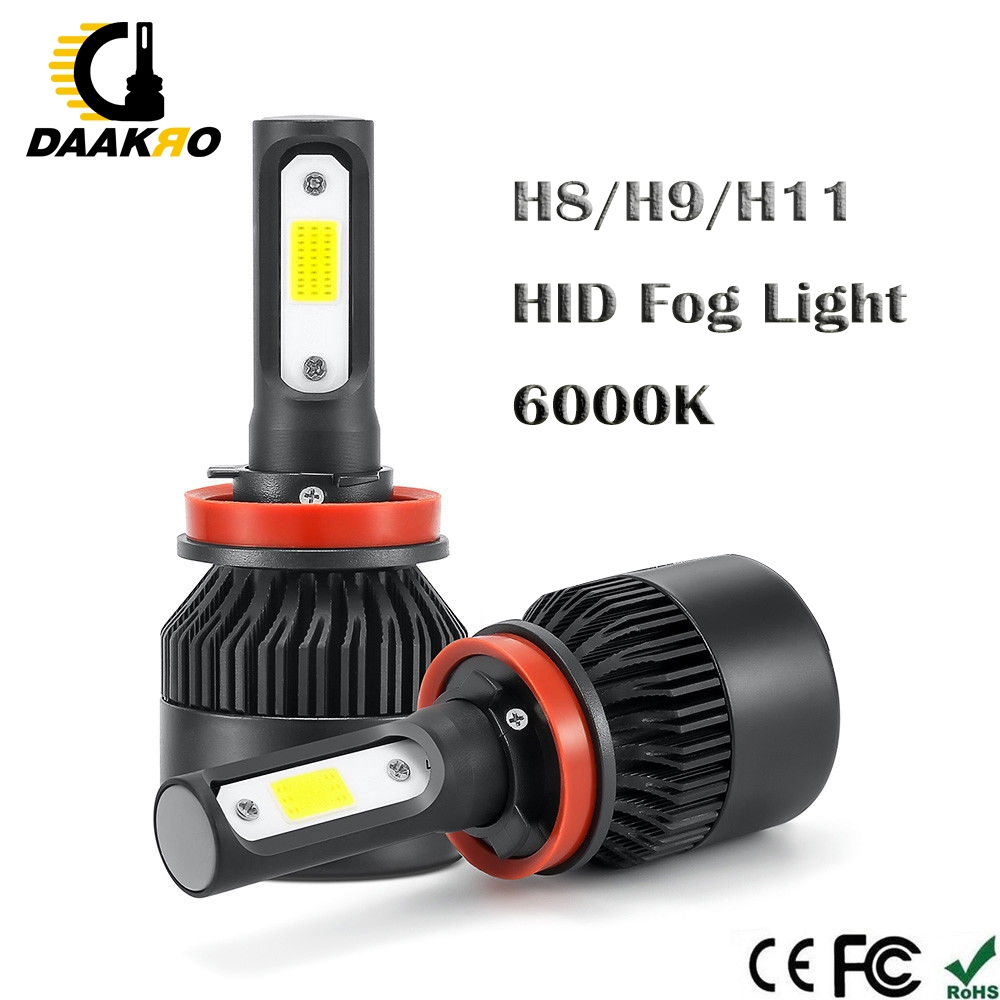 Image 5 - Car Headlight H1 H4 H8 H9 H11 H7 9005 LED 72W 4000LM 6000K LED Bulb Fog Light Auto Headlamp Lamps Pure White 3 Sides Dropshiping-in Car Headlight Bulbs(LED) from Automobiles & Motorcycles