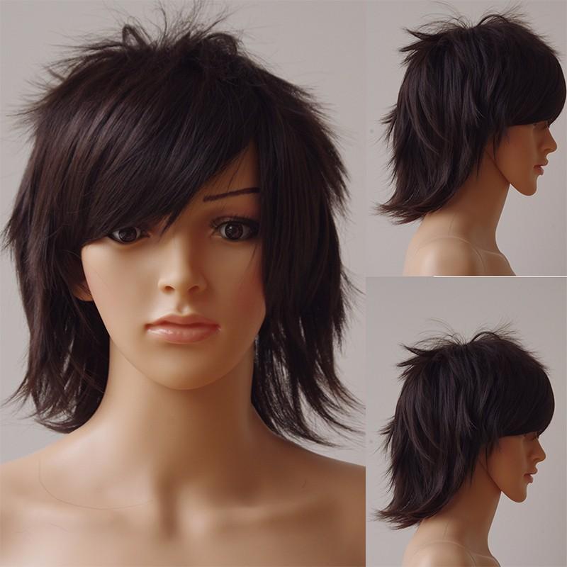 SNOILITE 30см Косплей Короткий Парик - Синтетичні волосся