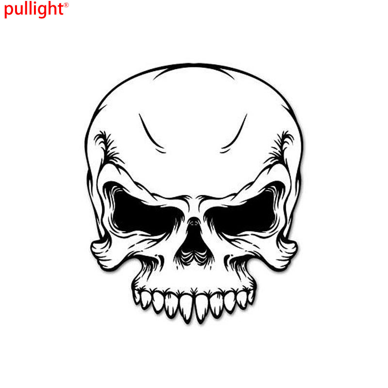 Compare Prices On Skull Decals For Motorcycles Online Shopping - Skull decals for motorcycles
