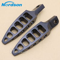 black/silver Male Mount Design Motorcycle Foot Pegs Footrests case for Harley Dyna Sportster