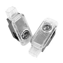 2X For AUDI Q3 Q5 Q7 A1 A4 B5 B6 B7 B8 A6 C5 C6 C7 A8 A5 A7 A3 8V V8 8P 8L LED Car Door Logo Light Welcome Laser Projector Lamp