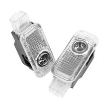 2X LED Car Door Logo Light Welcome Laser Projector Lamp For AUDI A1 A3 A4 B5 B6 B7 B8 C5 C6 C7 A5 A6 A7 A8 8V V8 8P 8L Q3 Q5 Q7 все цены