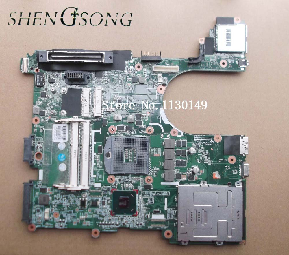 646966-001 Free Shipping laptop motherboardfor HP 8560P Notebook PC system board QM67 , 100% working free shipping notebook motherboard system board 641733 001 for hp probook 6360b series working perfect tested