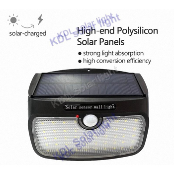detachable New Generation 48 LED Solar Power Energy PIR Infrared Motion Sensor Garden Security wall camp landscape decor Lamp