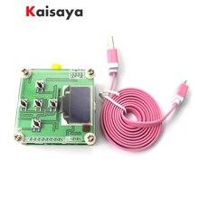 Oled scherm RF power meter 0 500 mhz 80 ~ 10dBm kan set RF power demping waarde digitale meter gratis verzending