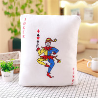 The Nightmare Clown Pillow Cover Ghost Cotton Linen Cushion Cover 2017 For Sofa Bedroom Home