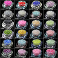 1.5MM 2000Pcs/Lot Mixed Colors Half Pearl Round Beads Flat Back ABS Resin Imitation Scrapbook DIY Craft  Nail Art