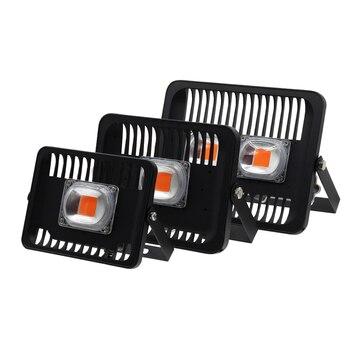 Led Wachsen flutlicht 30 W 50 W 100 W AC220V 230 V IP65 Wasserdichte Volle spektrum 380-780nm Für Aussaat anlage Mit EU Stecker Wachstum Lampe