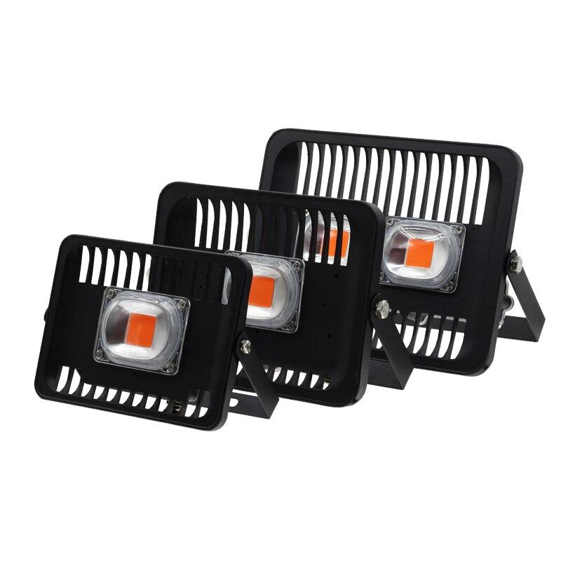 Led Wachsen flutlicht 30 Watt 50 Watt 100 Watt AC220V 230 V IP65 Wasserdicht vollspektrum 380-780nm Für Aussaat Anlage Mit Eu-stecker Wachstum Lampe