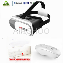 The Upgraded Version of Virtual Reality VR Glasses 3D VR Game Helmet Head Mounted Private Theater for 3.5-6 inches Smartphones