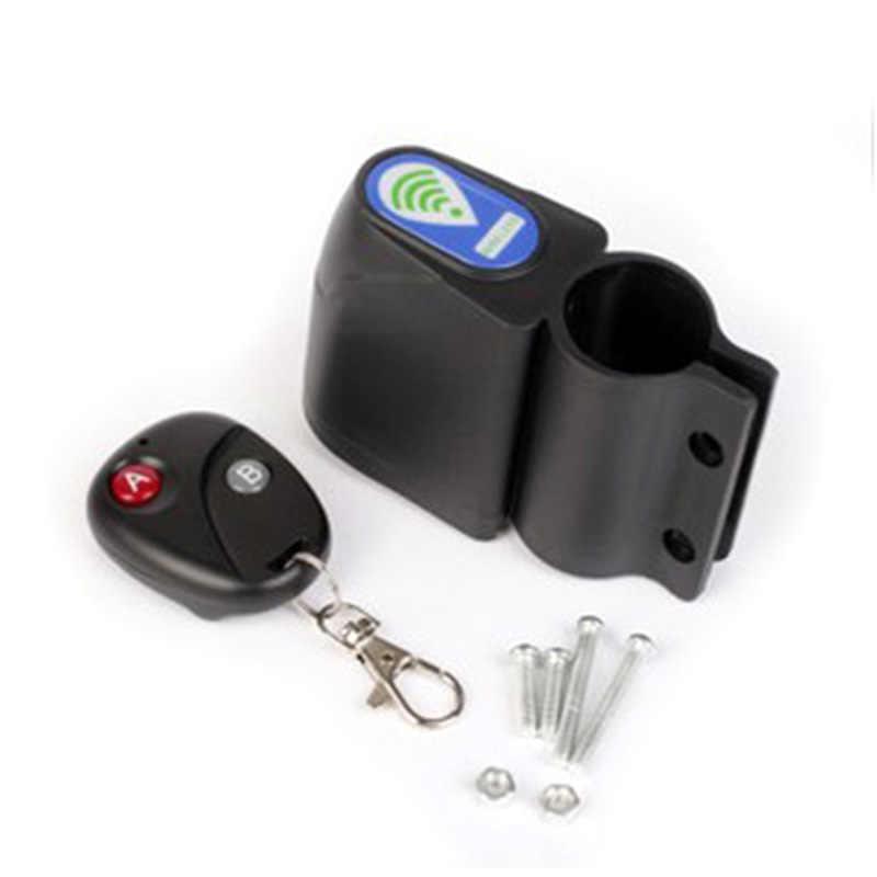 Bisiklet bisiklet kablosuz Alarm kilidi ile uzaktan kumanda Anti hırsızlık güvenlik sistemi YS-BUY