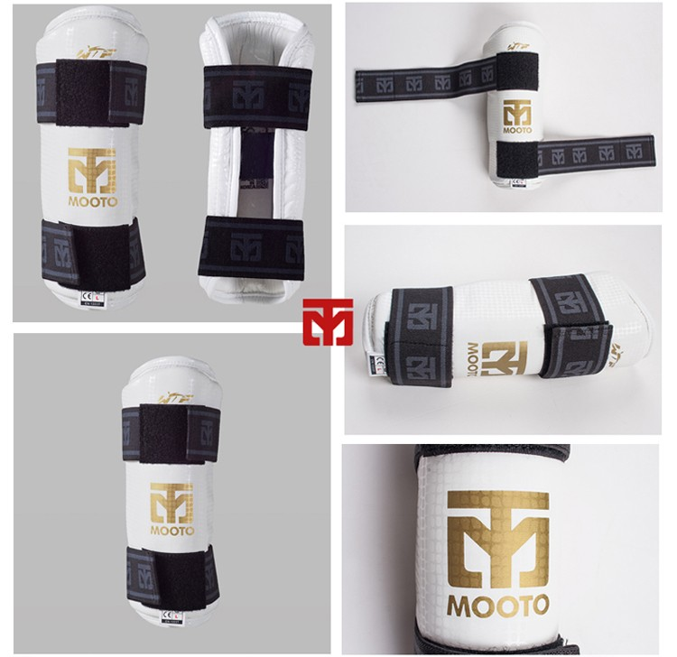 New MOOTO Taekwondo protectors five pieces of Taekwondo protector full set of 6 pieces adult children set EXTERA GOLDEN DESIGN pieces of why