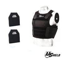 AA Shield Tactical Ballistic Concealable Vest Soft Armor Carrier Lvl IIIA Plates