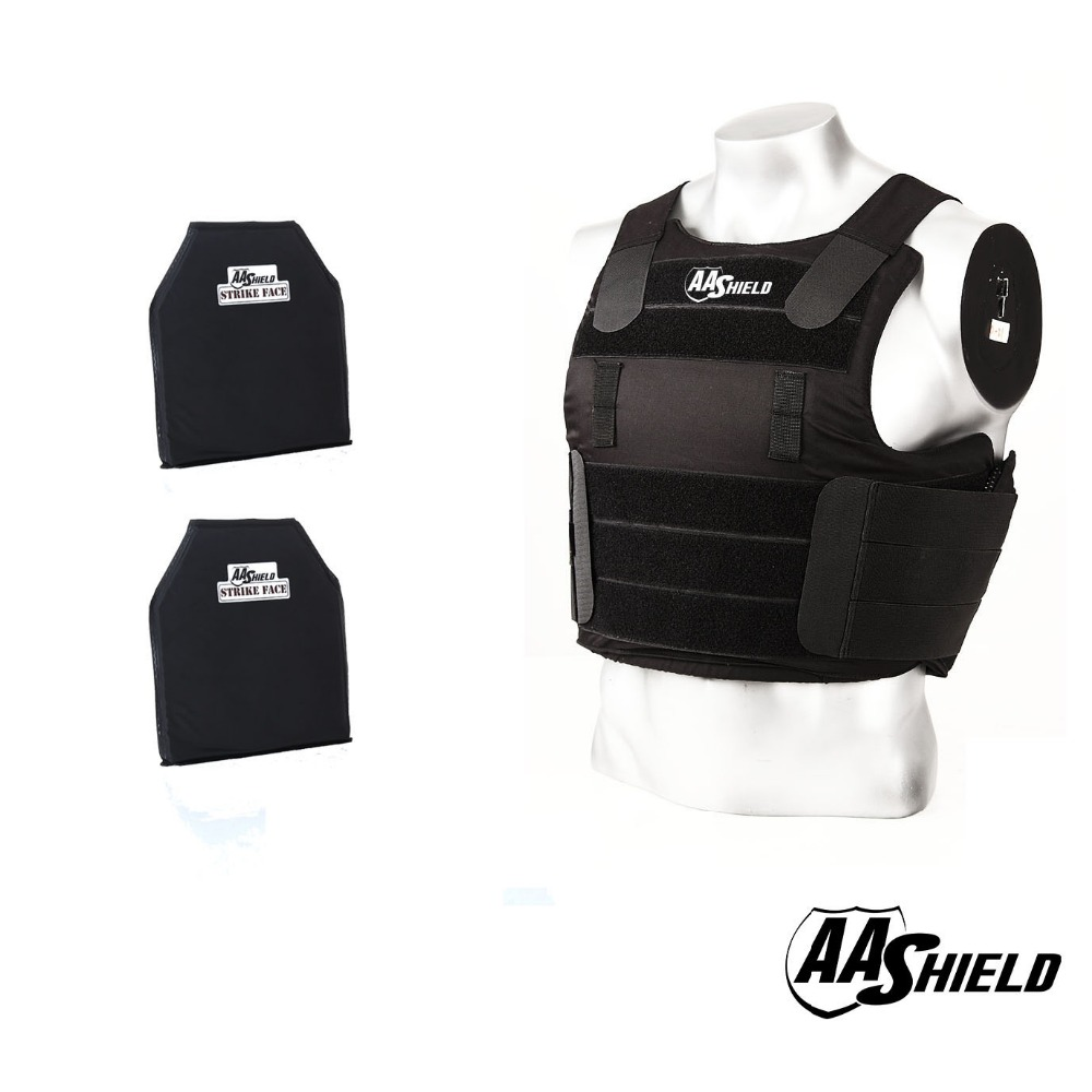 AA SHIELD Tactical Ballistic Vest Armor Kevlar Bullet Proof