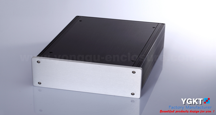 190*60-250mm(WxH-D) aluminum electronic enclosures amplifier enclosure aluminium box aluminium housing metal electronics box diy aluminum enclosure ygs 036 96 45 5 140mm wxh d
