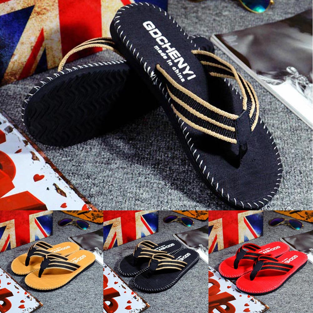 Men Summer Flip Flop Shoes Sandals Male Slipper Indoor Or Outdoor Beach Flip Flops Men Fashion Home Non-slip Breathable 2.7Men Summer Flip Flop Shoes Sandals Male Slipper Indoor Or Outdoor Beach Flip Flops Men Fashion Home Non-slip Breathable 2.7