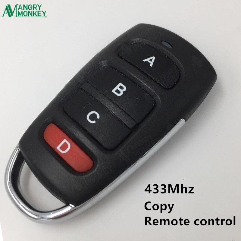 433.92 мГц беспроводной копия Дистанционное управление с Батарея двери гаража Дистанционное управление резервного копирования удаленный кл