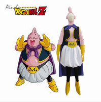 Ainclu Hot Dragon Ball Z Cosplay Costumes Dragon Ball Z Majin Boo the fat Boo Cosplay Costume Fat Man Costume Women Costume