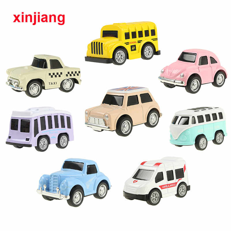 8 Pcs Mini Alloy Diecast Menarik Kembali Mobil Kartun Model Set Mainan untuk Anak Laki-laki Anak-anak Koleksi Mainan Pendidikan Anak-anak Ulang Tahun hadiah}