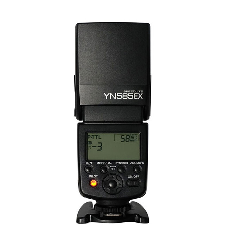 YONGNUO YN585EX P-TTL Wireless Flash Light TTL Speedlite for Pentax K-70 K-50 K-1 K-S1 K-S2 645Z K-3 K-5 II K-30 DSLR Cameras new yongnuo flash yn585ex p ttl wireless flash speedlite for pentax k 70 k 50 k 1 k s1 k s2 k3ii k5 k50 ks2 k100 camera