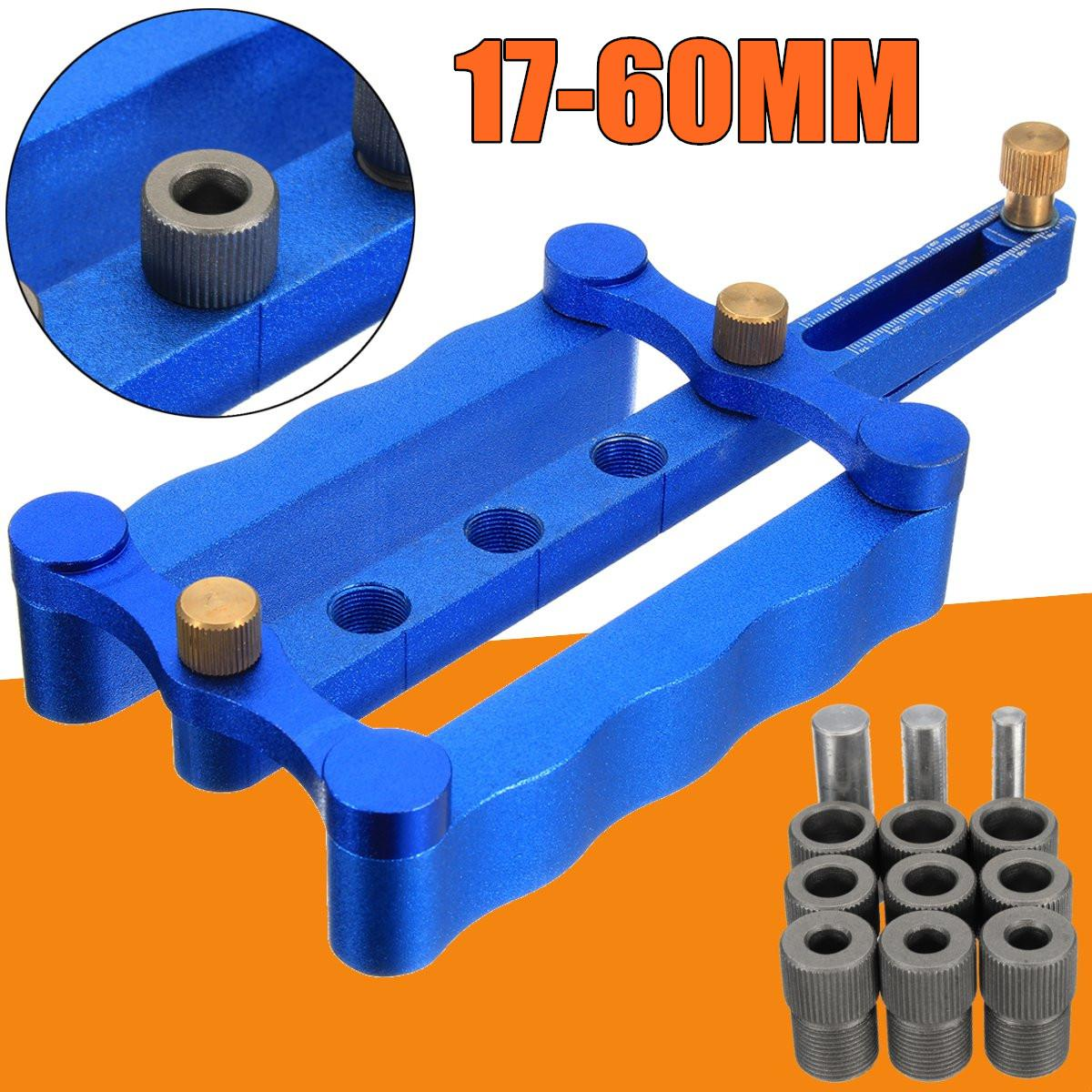 купить Self Centering Dowelling Jig Metric Dowel 6/8/10mm Drilling Tools for woodworki L15 по цене 3287 рублей
