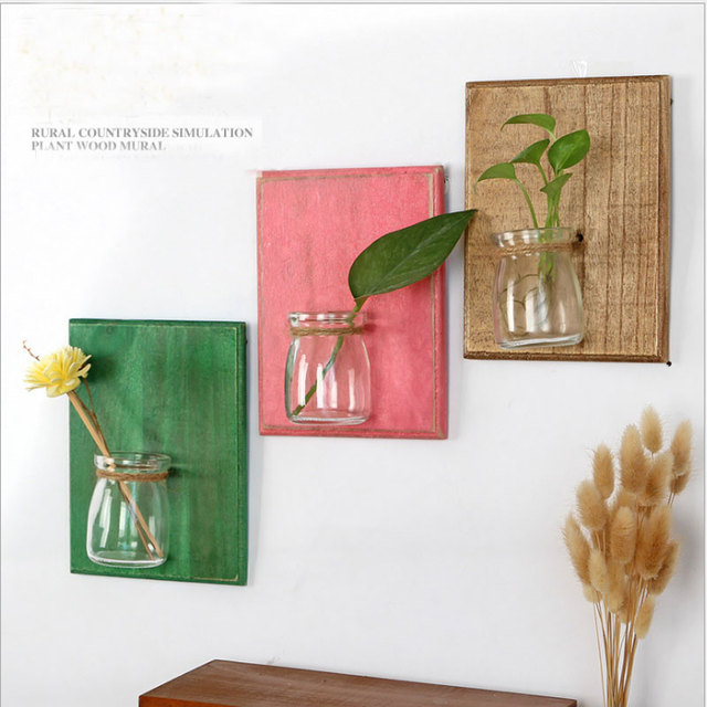 Цветочный Горшок Висит Стену Плантаторов Контейнер DIY Home Decor