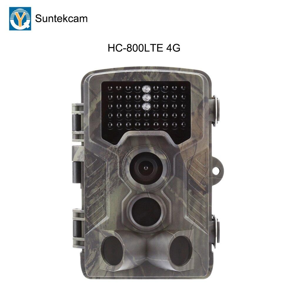 Suntekcam 2019 новейший HC800LTE 4 г/3g/2 г SMTP охотничья камера 16MP 1080 P Trail камера наблюдения камера для съемки диких животных фото ловушка