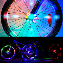 Bike Lights Night riding Windmills Mountain LED Bicycle Accessories And Equipment Colorful Decorative Tires Fashion