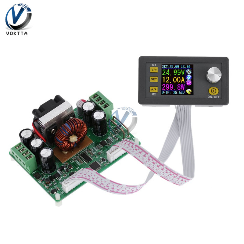 DPS3012 Constant Voltage Current Step-down Programmable Power Supply Module Buck Voltage Converter LCD Voltmeter 32V 12A
