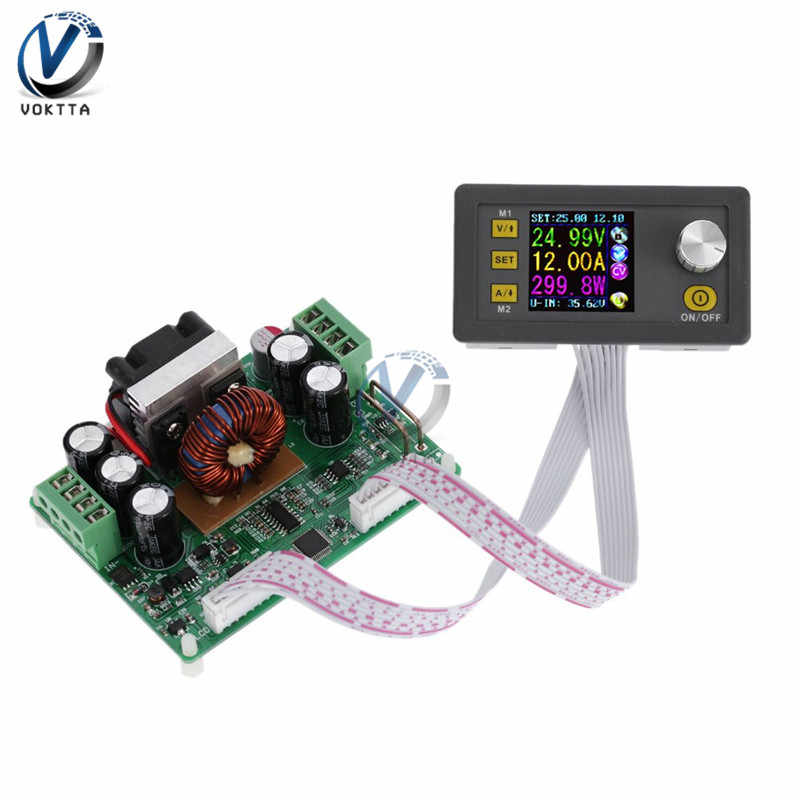 DPS3012 Constante Spanning stroom Step-down Programmeerbare Power Supply module buck Voltage converter LCD voltmeter 32V 12A