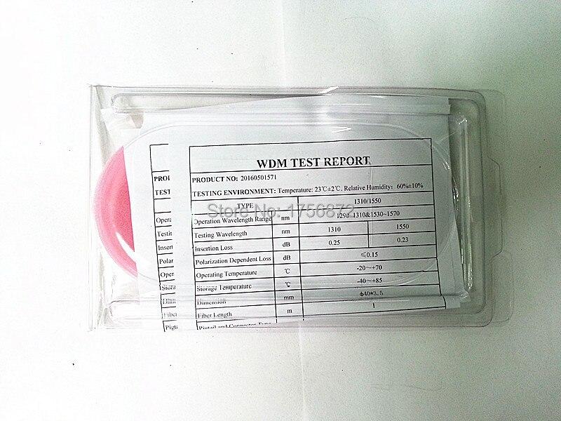 100% fabrik levererar direkt 1X2 enkelmodus WDM smält WDM 1x2 1310 / - Kommunikationsutrustning - Foto 6