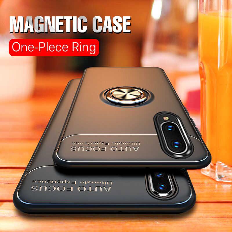 Роскошный армированный мягкий кольцо чехол крышка на samsung Galaxy A50 A70 A10 A20 A30 бампер чехол для M30 M10 M20 A7 A9 2018 чехол для автомобиля
