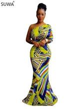 Women Clothing Fashion 2017 Sexy Dress Club Wear One Shoulder Bodycon Dress Online Shopping Boho Maxi
