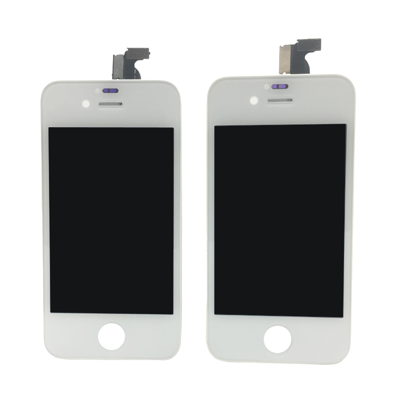 Original for Iphone 4 4S 5 5S 5C Screen Lcd For Cracked Screen and Broken Display Repair Free Fix Kit/Glass Protect/Phone Case